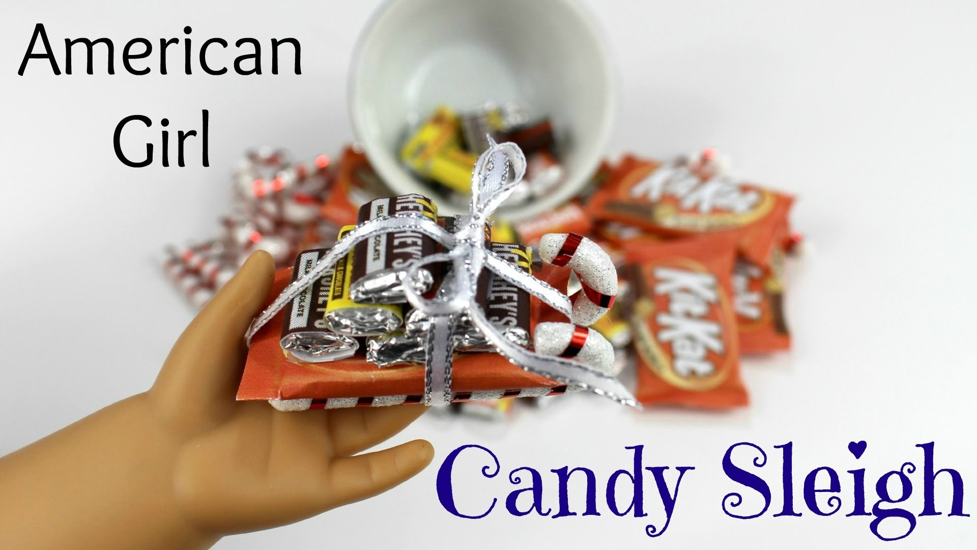 How to make American Girl Candy Sleigh