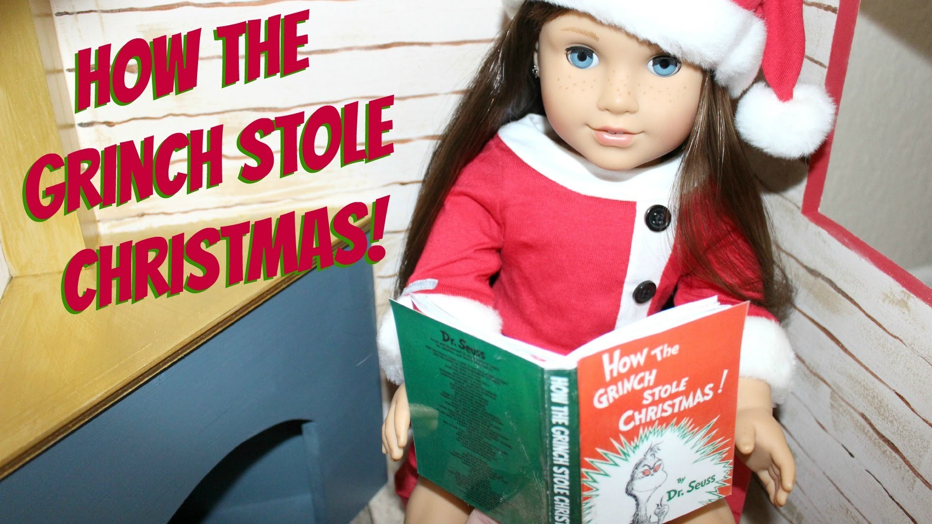 How to make American Girl How the Grinch Stole Christmas Book