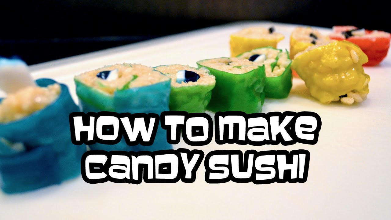 How To Make Candy Sushi | In the Kitchen with Bethany G