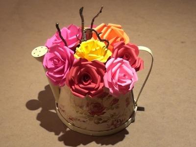 How to Make Easy Paper Flower Rose