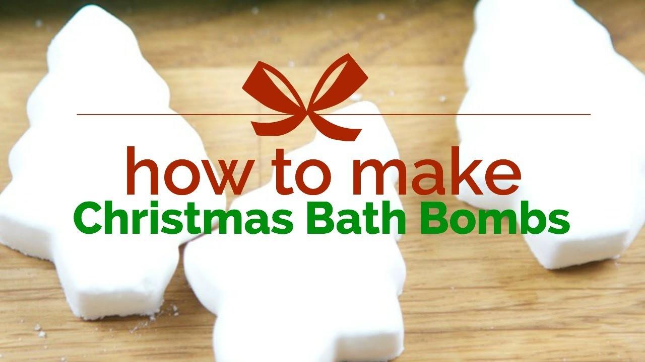 How to Make Fun Bath Bombs. For Christmas