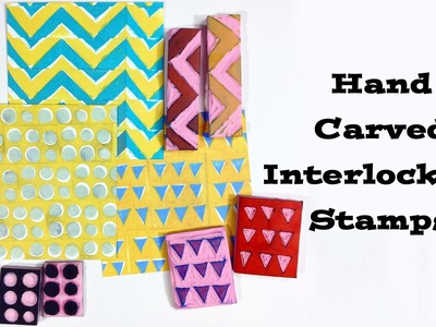 How to Make Hand-Carved Interlocking Stamps