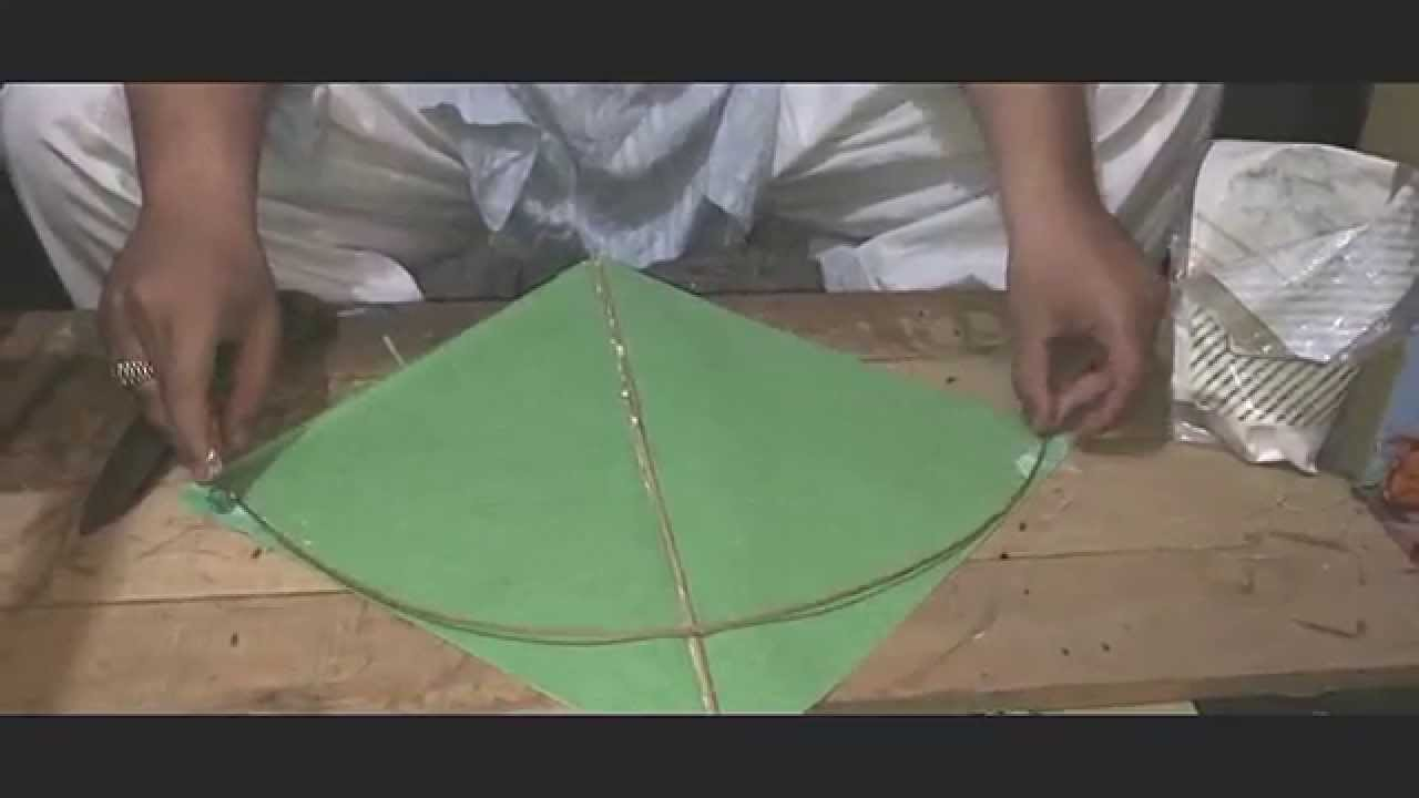 How to make kite at home By A.K kites
