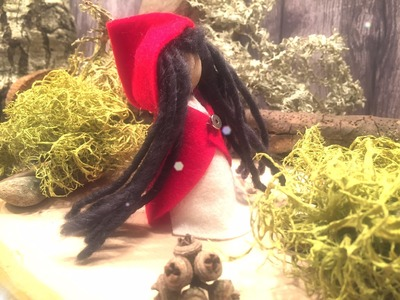 How to Make Little Red Riding Hood Puppet   Tutorial