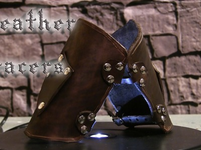 How to Make Medieval Leather Bracers