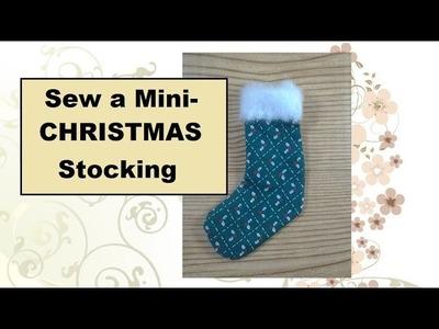 How to Make Miniature Christmas Stockings