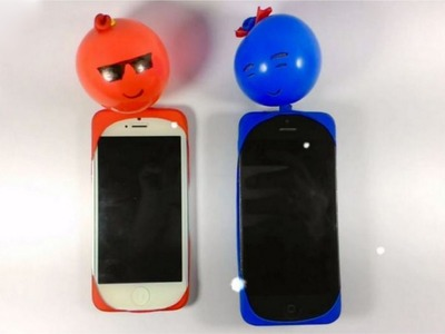 How to make MOBILE COVER at home With Balloon