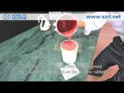 How to make pad printing silicone rubber ?