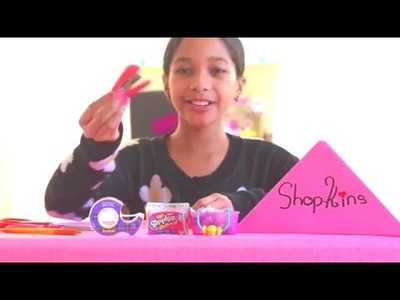 How to make shopkins blind baskets