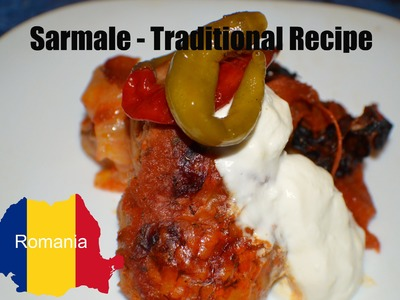 - How to make- Traditional Romanian Sarma