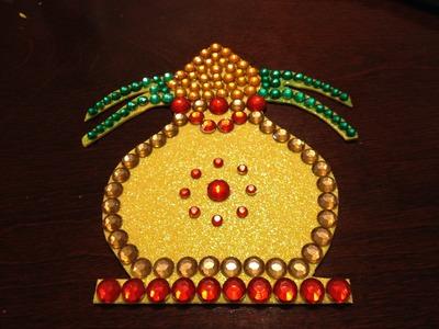 Kundan Art : How to make a Kalash