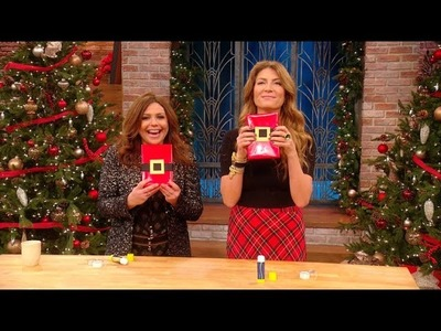 Learn How to Wrap Your Holiday Presents with an Adorable 'Santa Belt'