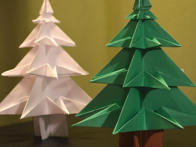 Origami: How to Make a Paper Christmas tree