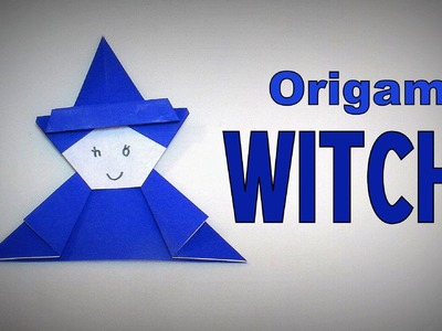 Origami - How to make a WITCH