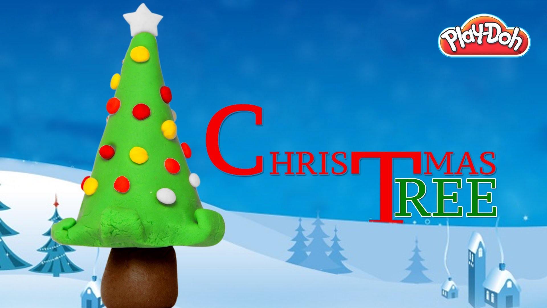 Play Doh Christmas Tree | Christmas Tree | How To Make Play Doh Christmas Tree