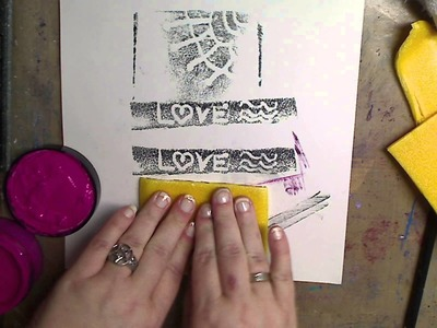 QUICK TIP! How to- make Stamps from foam trays-Recycle and Reuse!
