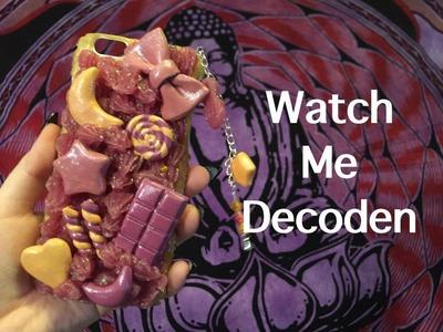 Watch me Decoden. How to Decoden Tutorial