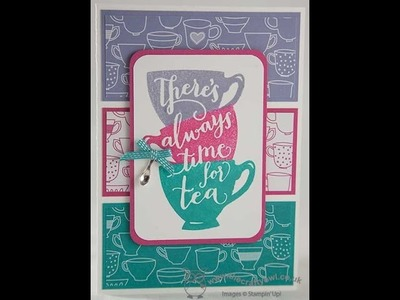 A Nice Cuppa Two Minute Technique Video - How to ink your photopolymer stamps using a mask