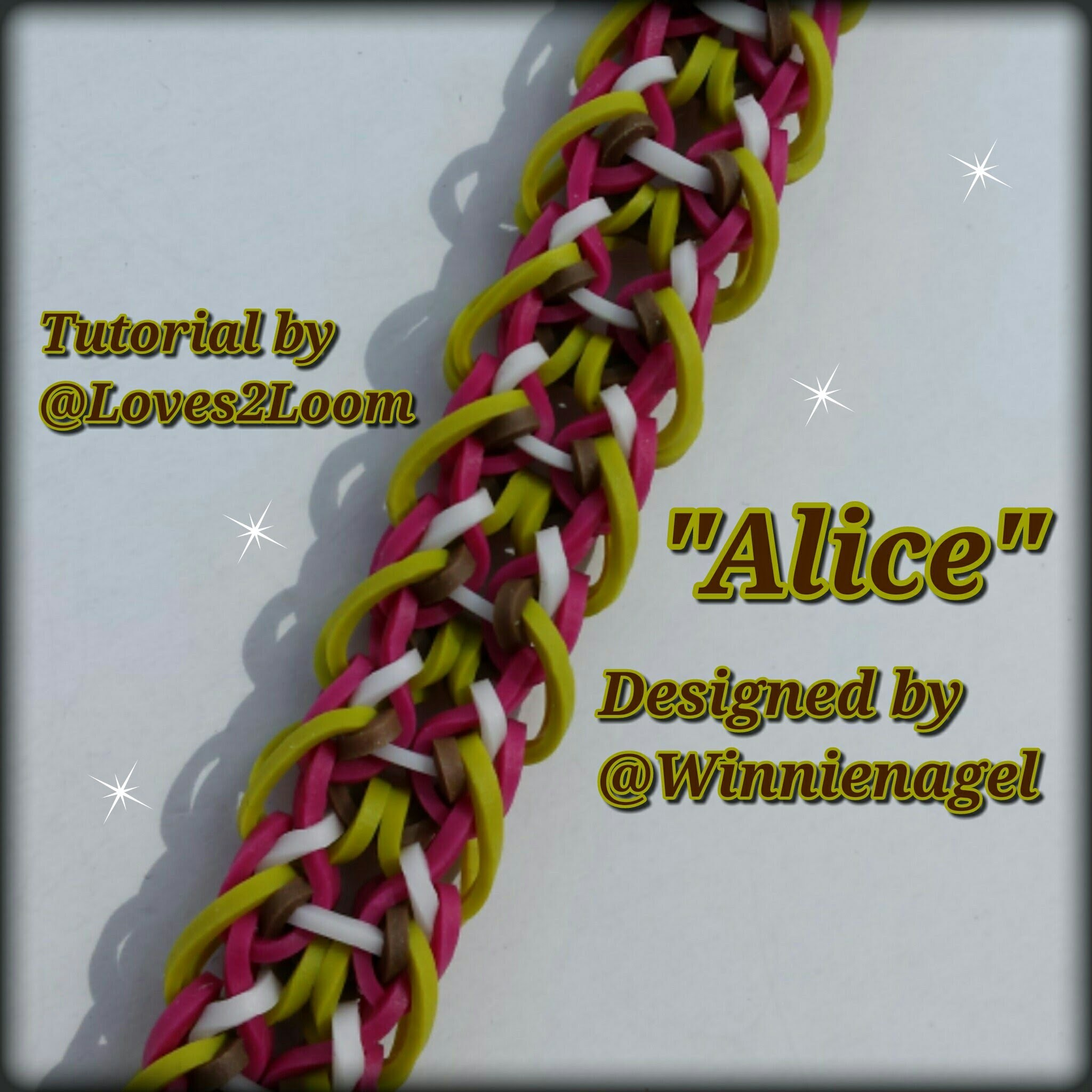 """Alice"" Hook Only Bracelet. How To Tutorial"