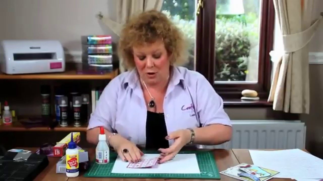 Crafters Companion : How to Use Collall All Purpose Glue