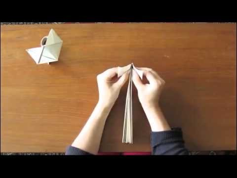 Easy Origami cat tutorial   How to make a Cute Origami Cat