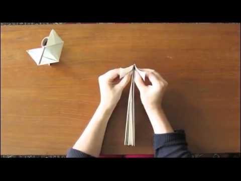 Easy Origami cat tutorial   How to make a Cute Origami Cat