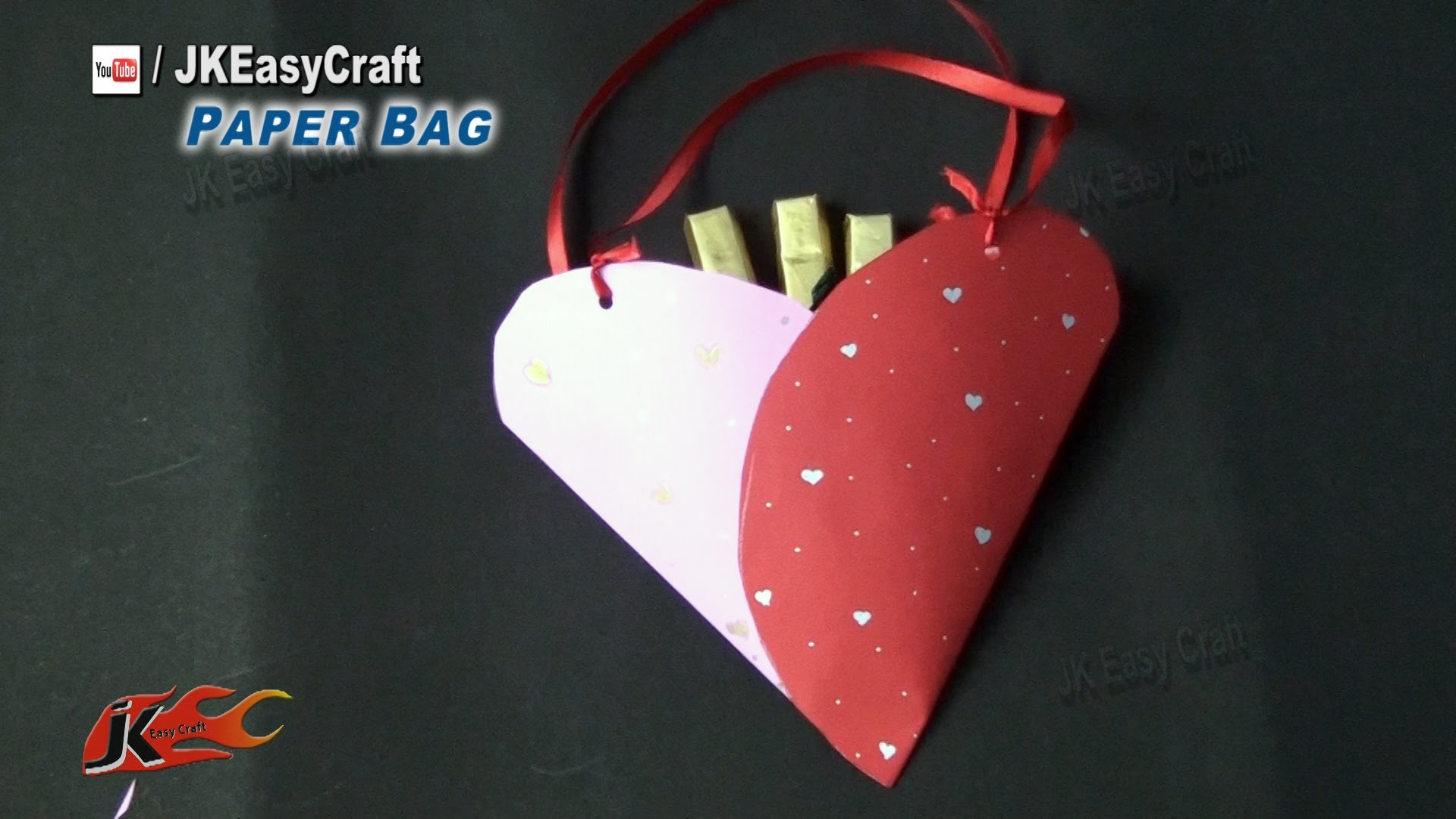 Easy Paper Bag | How to Make | Chocolates Gift Idea | JK Easy Craft 121