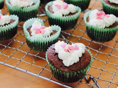 Easy recipe: How to make heart-shaped cupcakes