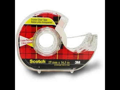 Hobby in a Box- How To Use This -Scotch tape
