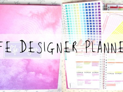 How I'm Using My Life Designer Planner, & Review!   MyGreenCow
