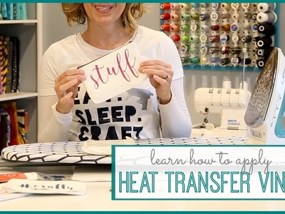 How to Apply Heat Transfer Vinyl