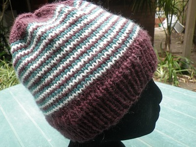 How to Begin Knitting Helix Stripes | Starting Helix Stripes | How to knit Helix Stripes for Beanie