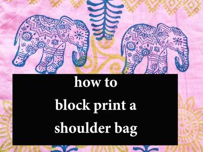 How to Block Print a Bag | Jamie Malden | Woodblock Printing