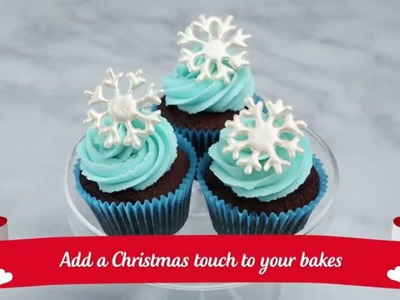 How to.  Create White Chocolate Snowflakes