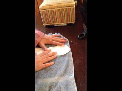 How to Cut Terrycloth and Towel-Type Fabrics