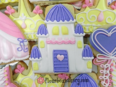 How to Decorate a Princess Castle Cookie