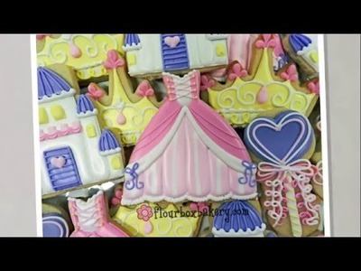 How to Decorate a Princess Gown Cookie