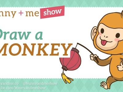 How to draw a Monkey - Chinese Zodiac art tutorial