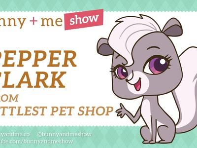 How to Draw Pepper Clark - Littlest Pet Shop Drawing Tutorial
