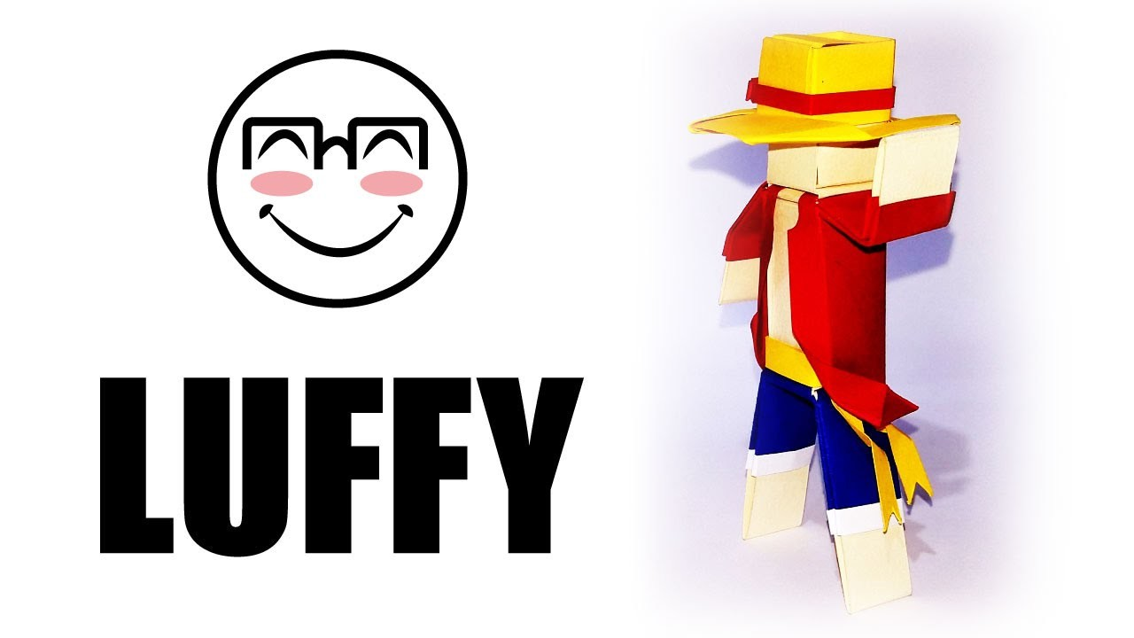 How to dress Vyouttar figure as Luffy from ONE PIECE - Vyouttar Origami