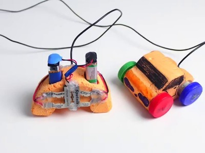 How to make a 4x4 REMOTE CONTROL CAR