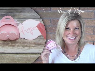 How to make a Bikini Box of Hope w. Stampin Up Curvy Box
