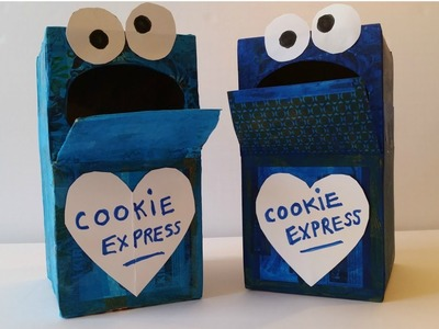 How to Make a Cookie Monster Mailbox