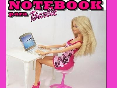 How to make a doll laptop notebook computer (Barbie, Monster High, Frozen, EAH, etc)