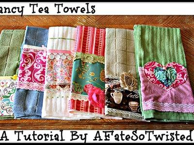How To Make A Fancy Tea Towel