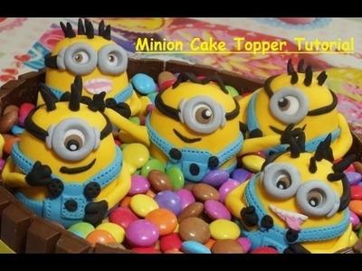 How To Make A Fondant Minion - Minion Cake Topper - Max's Cake Studio