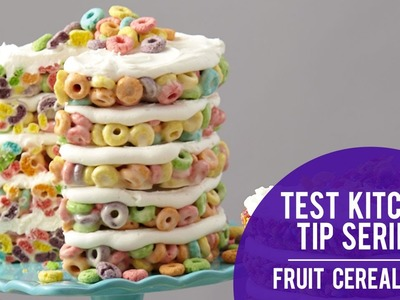 How to make a Layered Cereal Cake