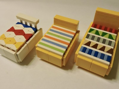How To Make A Lego Bed With Mosaic Details