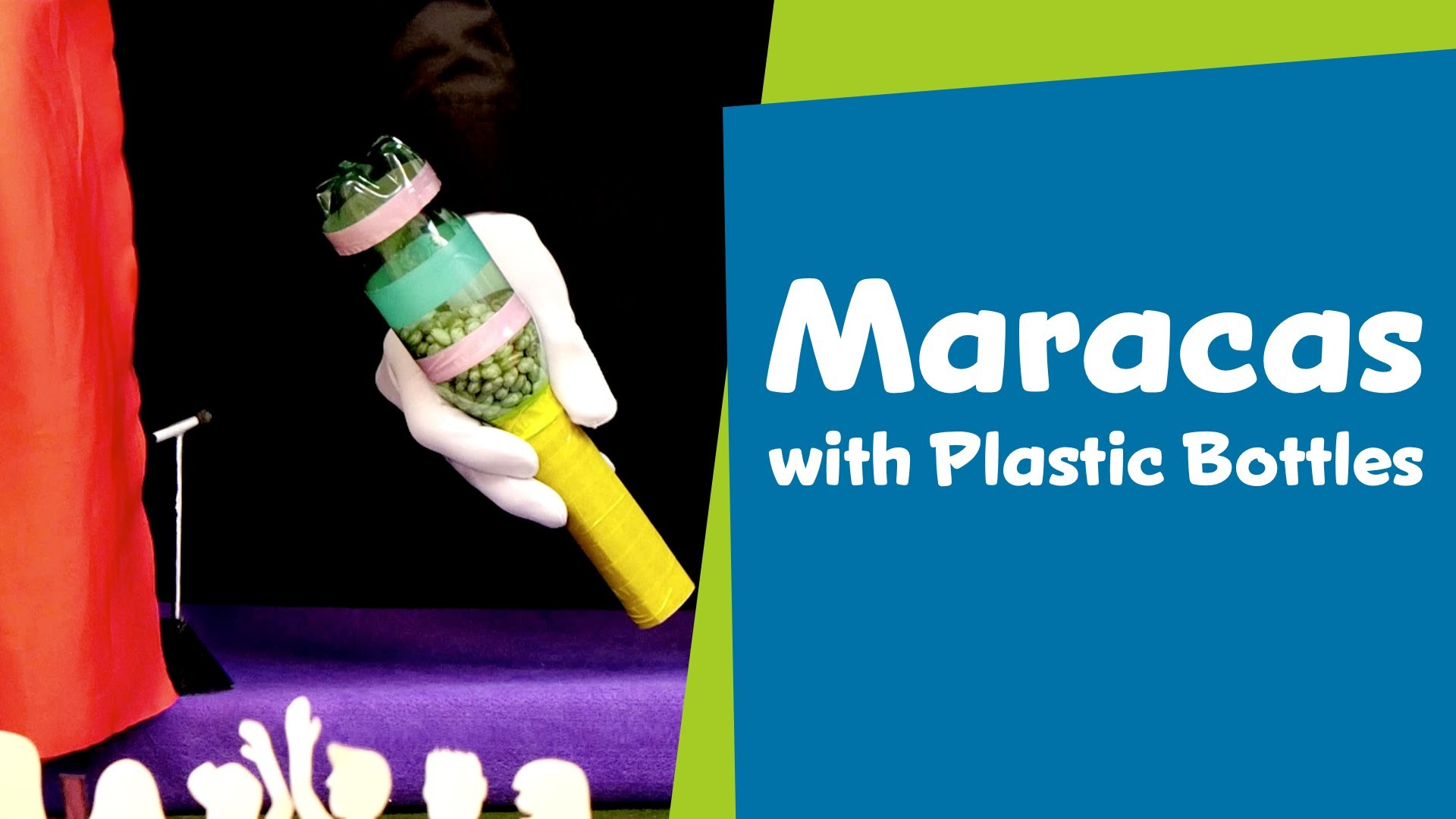 How to Make a Maracas with Plastic Bottles   DIY Crafts for Kids   SuperHands: Ep 19