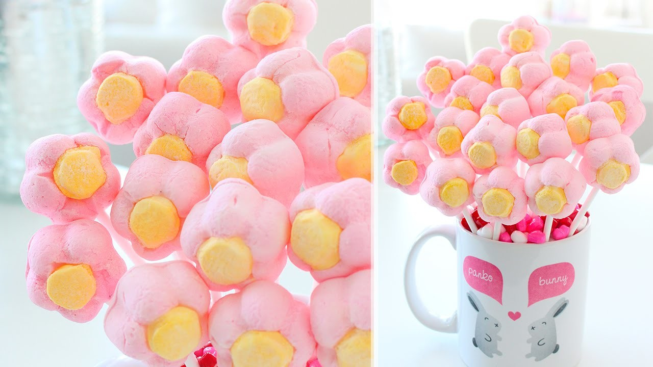 How to Make a Marshmallow Flower Bouquet
